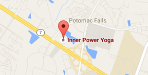 Inner Power Yoga Map